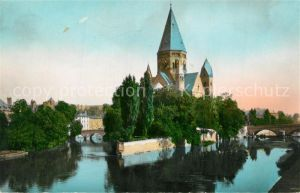 Metz_Moselle Temple Protestant Evangelische Kirche Metz_Moselle