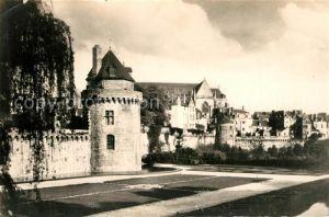 Vannes La Tour du Connetable et les Jardins Cathedrale Vannes