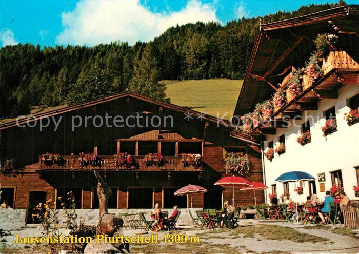 AK / Ansichtskarte Neustift_Stubaital_Tirol Jausenstation Pfurtschell Neustift_Stubaital_Tirol