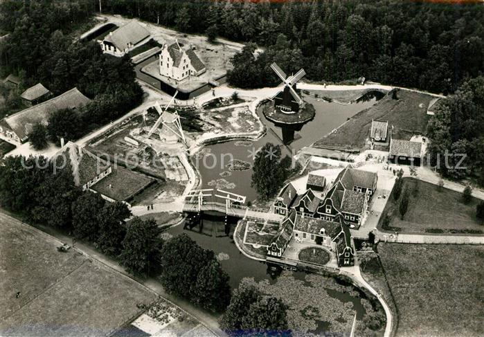 AK / Ansichtskarte Arnhem Fliegeraufnahme Rijksmuseum voor Volkskunde Arnhem