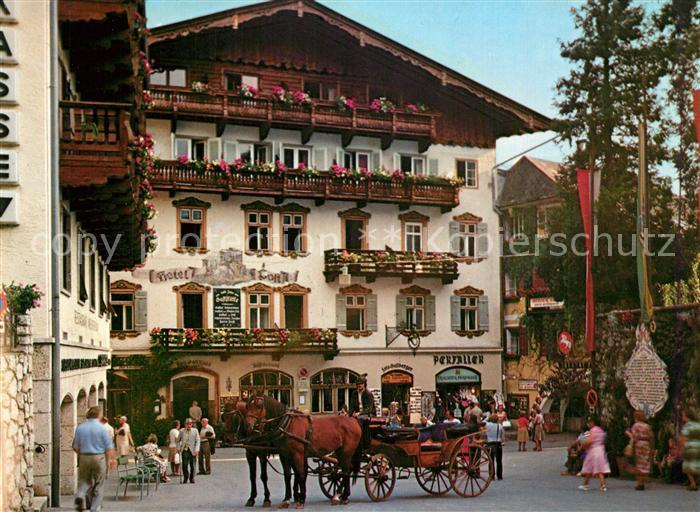 AK / Ansichtskarte St_Wolfgang_Wolfgangsee Hotel Post St_Wolfgang_Wolfgangsee