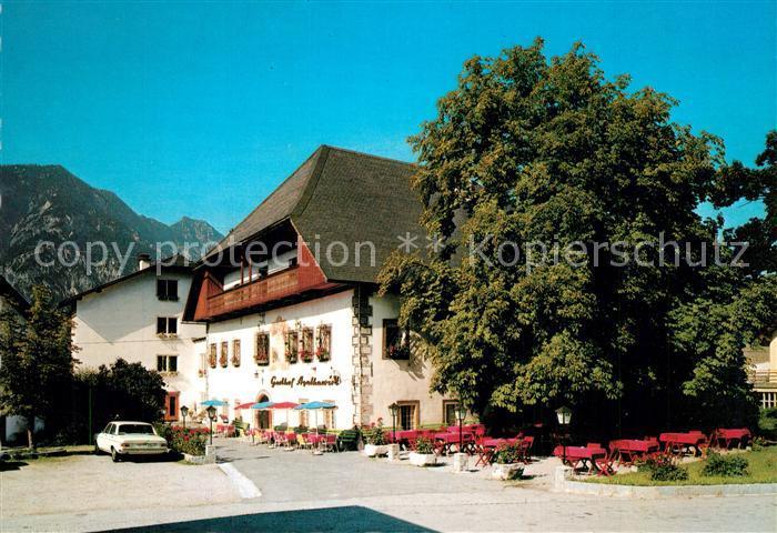 AK / Ansichtskarte Bad_Goisern_Salzkammergut Agatha Wirt Bad_Goisern_Salzkammergut