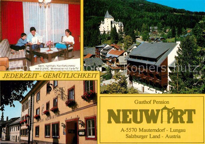 AK / Ansichtskarte Mauterndorf Gasthof Pension Neuwirt Mauterndorf
