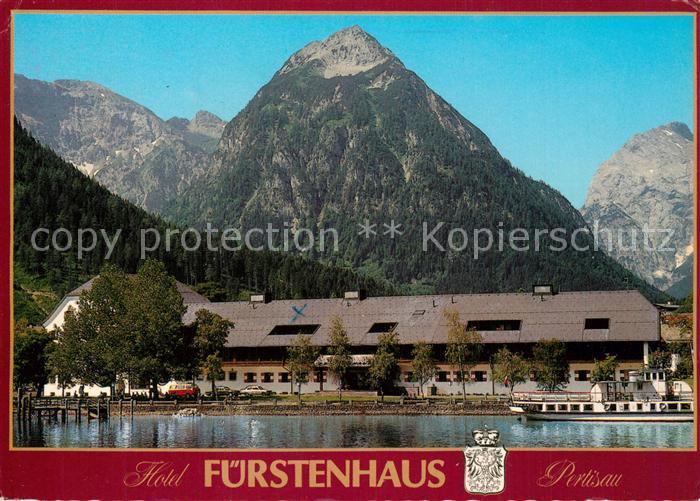 AK / Ansichtskarte Pertisau_Achensee Hotel Fuerstenhaus Pertisau Achensee