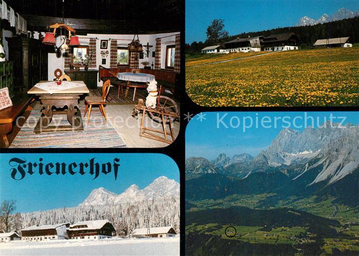 AK / Ansichtskarte Ramsau_Dachstein_Steiermark Frienerhof Ferienhaus Appartements Ramsau_Dachstein