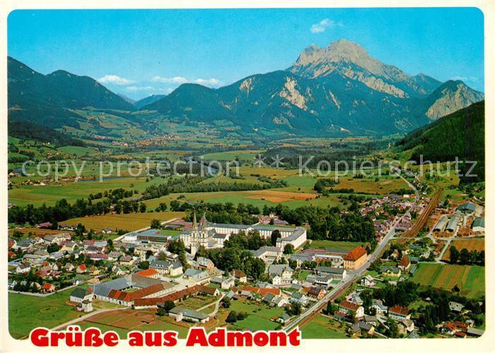 AK / Ansichtskarte Admont_Steiermark Panorama Admont_Steiermark