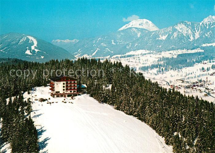 AK / Ansichtskarte Ramsau_Dachstein_Steiermark Hotel Berggasthof Erbacher Winter Ramsau_Dachstein