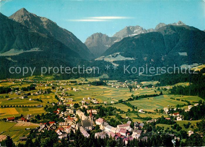 AK / Ansichtskarte Koetschach Mauthen_Kaernten Panorama Koetschach Mauthen Kaernten