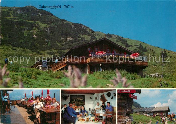 AK / Ansichtskarte Kirchberg_Tirol Jausenstation Baerstaettalm Gaisberggipfel Kirchberg Tirol