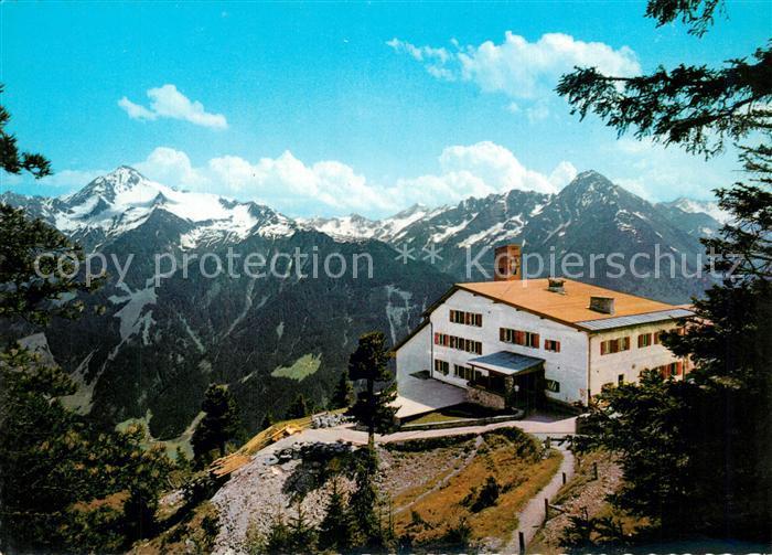 AK / Ansichtskarte Mayrhofen_Zillertal Cafe Restaurant Penkenbahn Mayrhofen_Zillertal