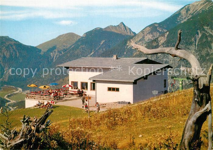 AK / Ansichtskarte Pertisau_Achensee Bergliftstube Karwendellift Pertisau Achensee
