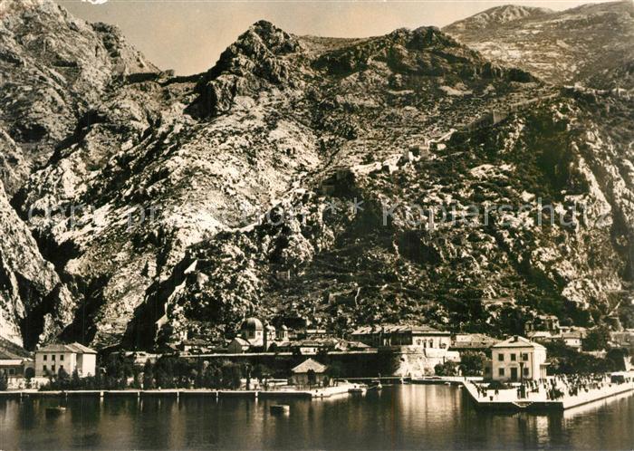 AK / Ansichtskarte Kotor_Montenegro Teilansicht Kotor Montenegro