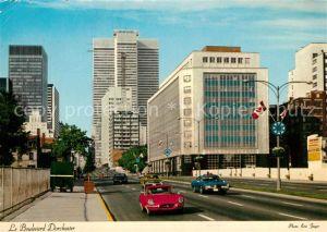 AK / Ansichtskarte Montreal_Quebec Le Boulevard Dorchester Montreal Quebec