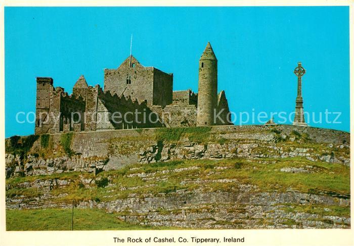 AK / Ansichtskarte Tipperary_Ireland The Rock of Cashel Tipperary_Ireland