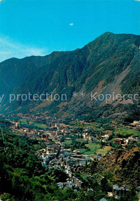 AK / Ansichtskarte Andorra Vista general d'Andorra Les Escaldes Andorra