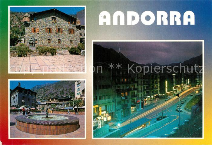 AK / Ansichtskarte Andorra Principat d Andorra Andorra
