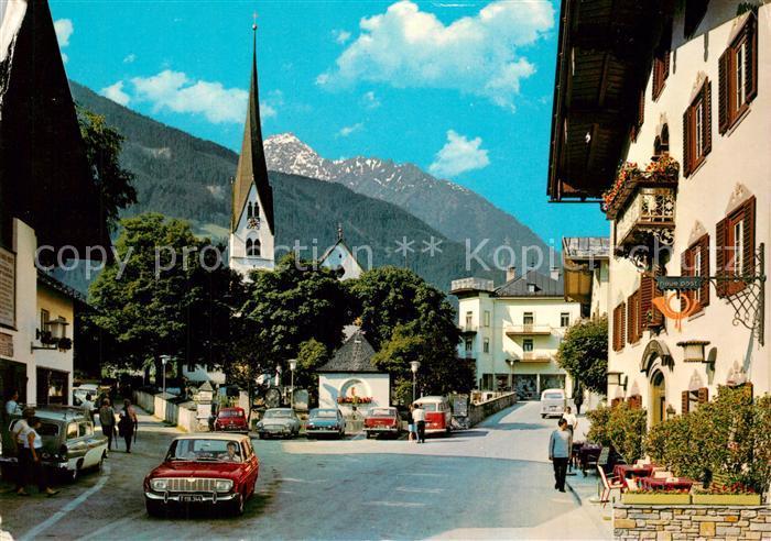 AK / Ansichtskarte Mayrhofen_Zillertal Ortspartie Mayrhofen_Zillertal