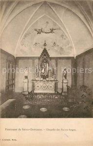 AK / Ansichtskarte Rustroff Pensionnat de Sainte Chretienne Chapelle des Saints Anges Rustroff