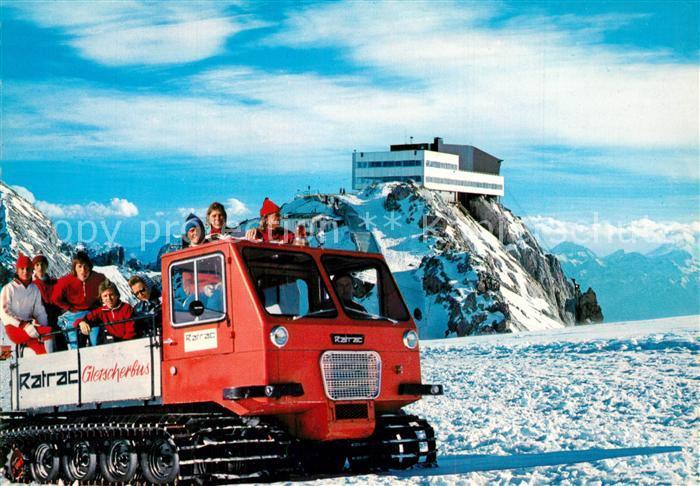AK / Ansichtskarte Ramsau_Dachstein_Steiermark Gletscherbahn Bergstation Bergrestaurant Winter Ramsau_Dachstein