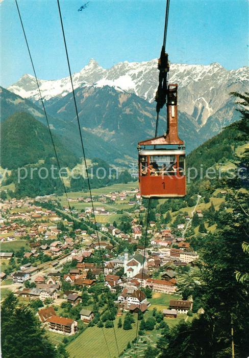 AK / Ansichtskarte Schruns_Vorarlberg Montafon Vandanser Steinwand Schruns Vorarlberg
