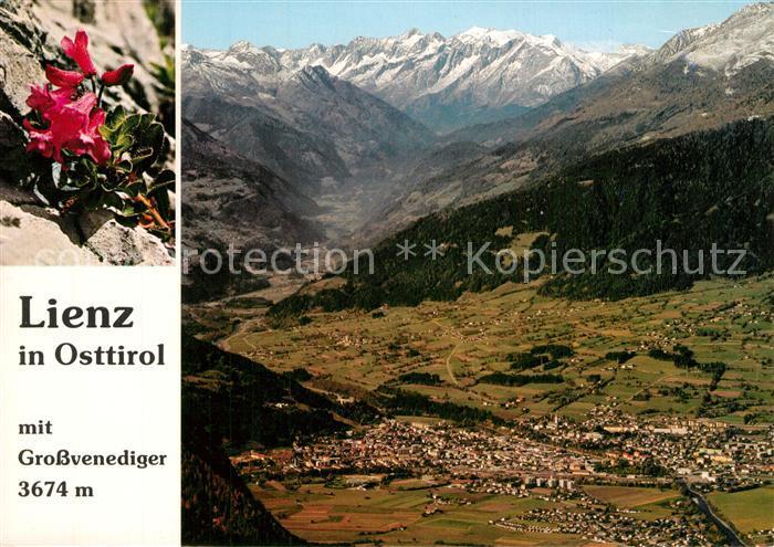 AK / Ansichtskarte Lienz_Tirol Panorama Grossvenediger Lienz Tirol