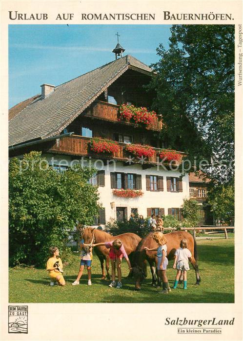 AK / Ansichtskarte Salzburger_Land Bauernhof Salzburger_Land
