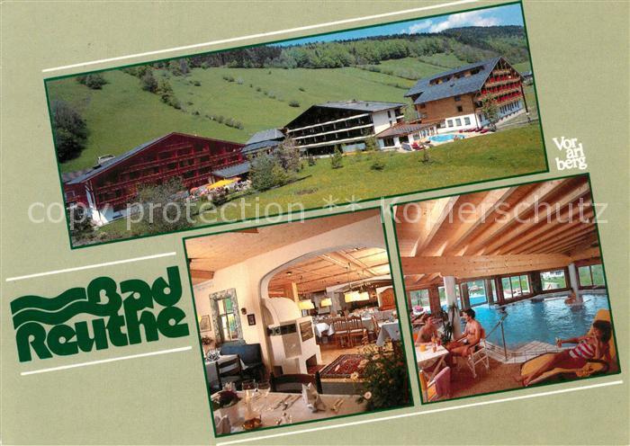 AK / Ansichtskarte Reuthe_Vorarlberg Kurhotel Moorheilbad Reuthe Vorarlberg
