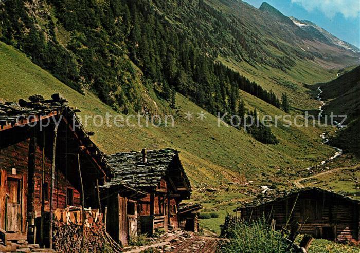 AK / Ansichtskarte Gerlos Schwarzachtal Gerlos