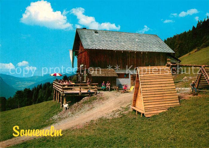 AK / Ansichtskarte Mandling_Ramsau Sonnenalm Jausenstation  Mandling Ramsau