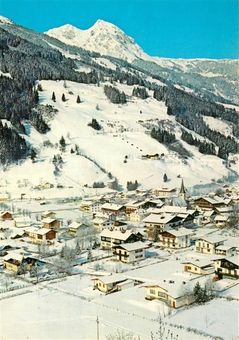 AK / Ansichtskarte Dorfgastein Baerenkogel Winterlandschaft Dorfgastein