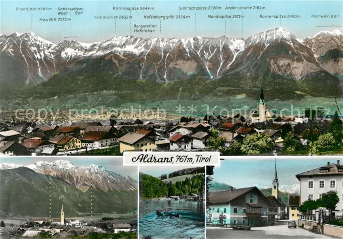 AK / Ansichtskarte Aldrans Panorama Ortsansichten Aldrans