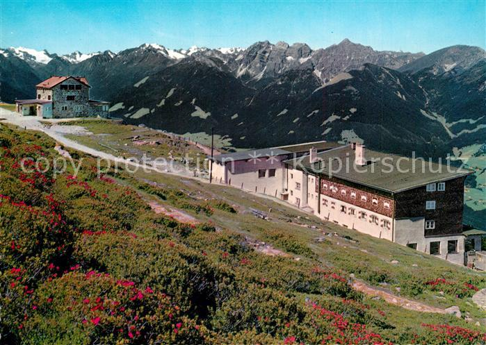 AK / Ansichtskarte Patscherkofel Patscherkofelbahn Bergstation Berghotel Schutzhaus Patscherkofel