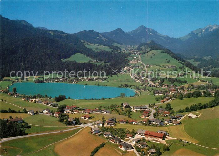 AK / Ansichtskarte Thiersee Fliegeraufnahme Thiersee
