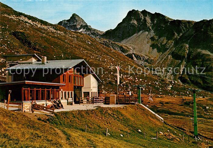 AK / Ansichtskarte Matrei_Osttirol Bergstation Venediger Blick Matrei_Osttirol
