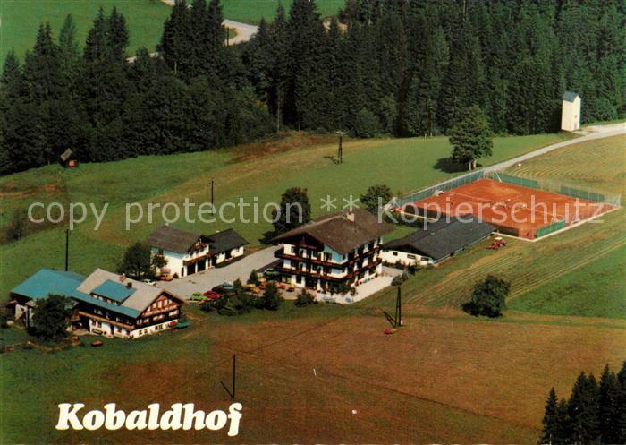 AK / Ansichtskarte Ramsau_Dachstein_Steiermark Kobaldhof Fliegeraufnahme Ramsau_Dachstein