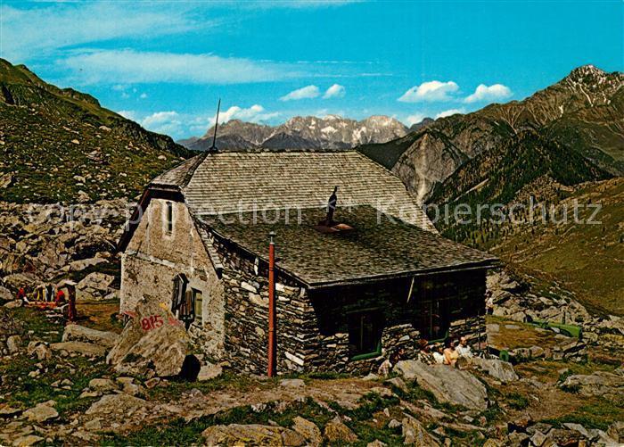 AK / Ansichtskarte Umhausen_Tirol Frischmann Huette Zugspitzmassiv Umhausen Tirol