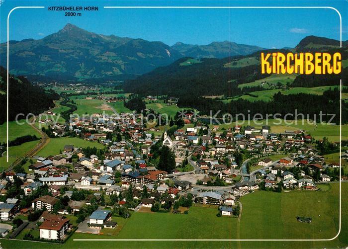 AK / Ansichtskarte Kirchberg_Tirol Fliegeraufnahme Kirchberg Tirol