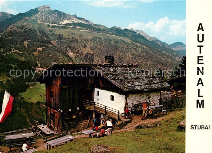 AK / Ansichtskarte Neustift_Stubaital_Tirol Autenalm Neustift_Stubaital_Tirol