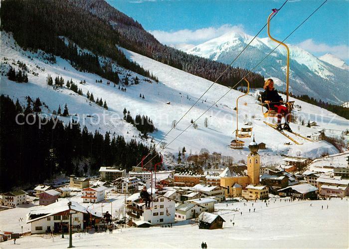 AK / Ansichtskarte Saalbach Hinterglemm Kohlmaislift Zwoelferkogel Winter Saalbach Hinterglemm