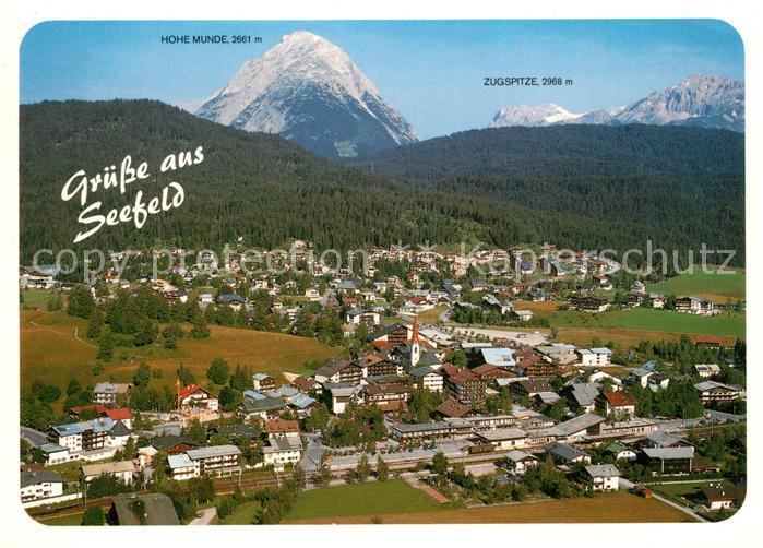 AK / Ansichtskarte Seefeld_Tirol Fliegeraufnahme Seefeld Tirol