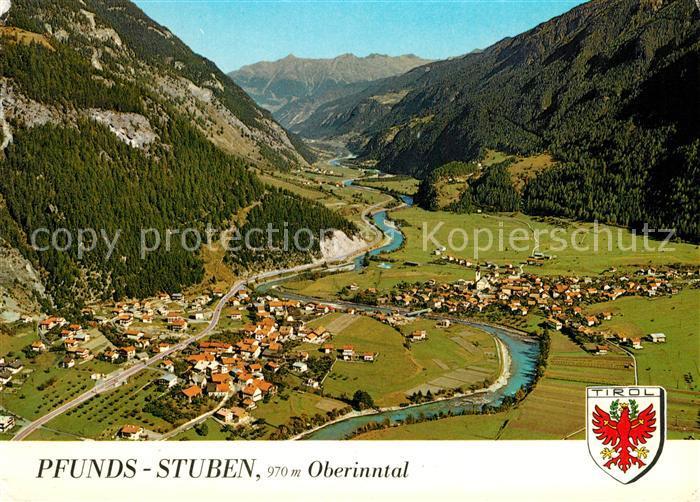 AK / Ansichtskarte Stuben_Pfunds Fliegeraufnahme Stuben Pfunds