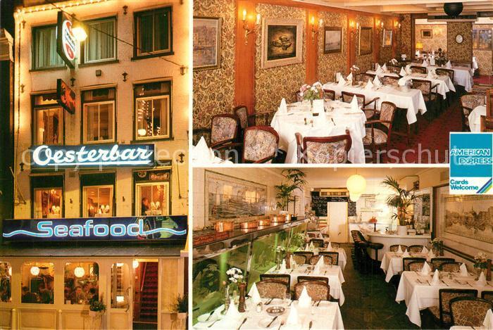 AK / Ansichtskarte Amsterdam_Niederlande Visrestaurant de Oesterbar Amsterdam_Niederlande