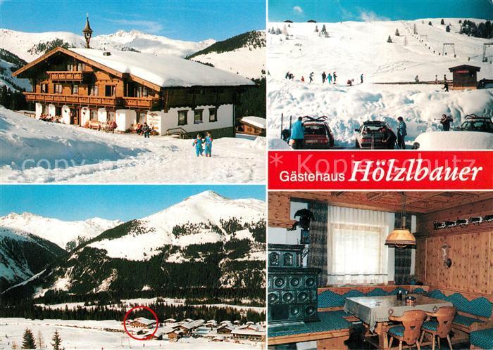 AK / Ansichtskarte Krimml Gaestehaus Hoelzlbauer Krimml