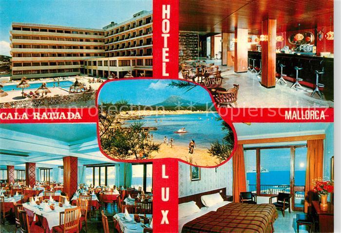 AK / Ansichtskarte Cala_Ratjada Hotel Lux Cala_Ratjada
