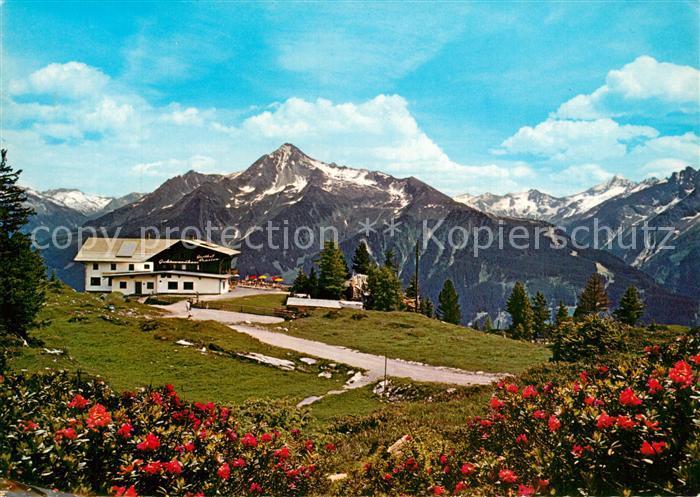 AK / Ansichtskarte Mayrhofen_Zillertal Penkenbahn Gasthof Gschoesswand Mayrhofen_Zillertal