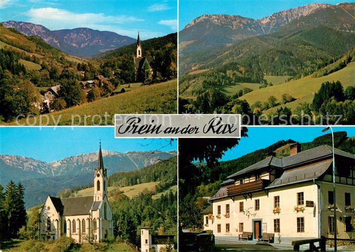 AK / Ansichtskarte Prein_Rax Kirche Panorama Prein_Rax