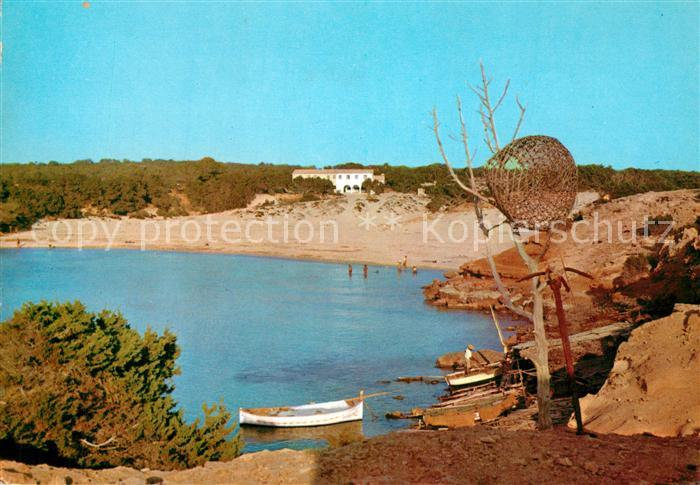 AK / Ansichtskarte Formentera Cala Sahona y Hotel Formentera