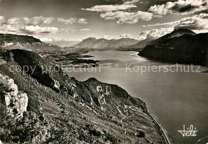 AK / Ansichtskarte Aix les Bains Vus de la Chambotte Aix les Bains