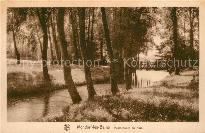 AK / Ansichtskarte Mondorf les Bains Promenades au Parc Mondorf les Bains