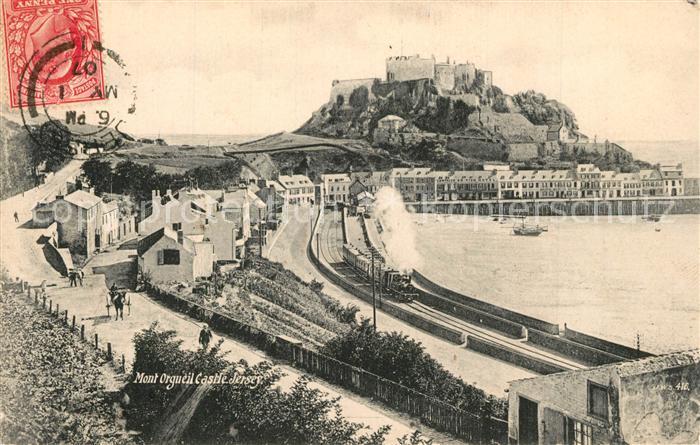 AK / Ansichtskarte Jersey_UK Mont Orgueil Castle Jersey_UK